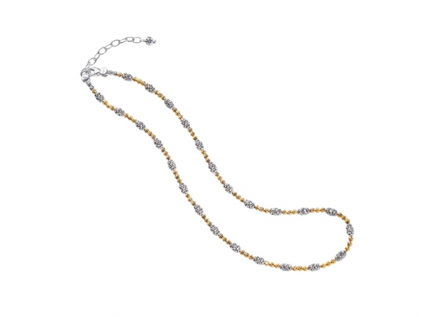 Ladies Sterling Silver Necklace by Officina Bernardi